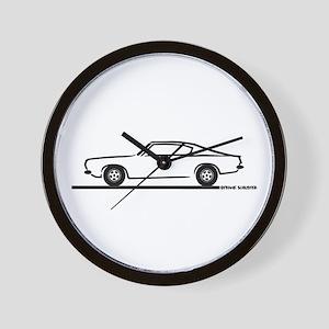 1968 Plymouth Barracuda Wall Clock