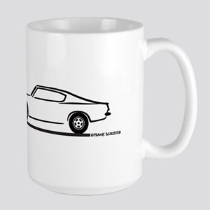 1968 Plymouth Barracuda Large Mug