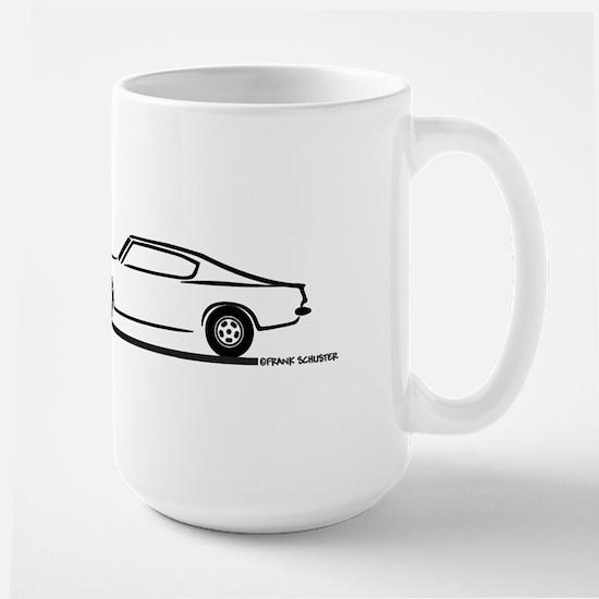 1968 Plymouth Barracuda Large Mug