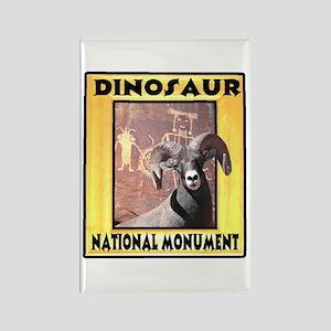 Dinosaur National Monument Rectangle Magnet