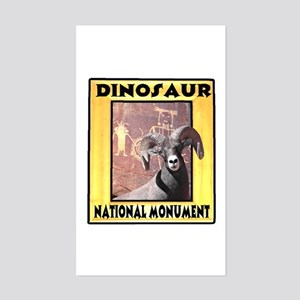 Dinosaur National Monument Rectangle Sticker