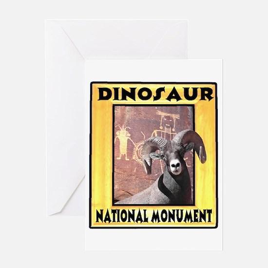 Dinosaur National Monument Greeting Card