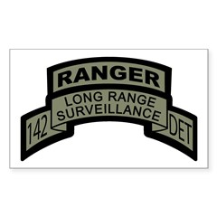 142 Long Range Surveillance D Rectangle Decal