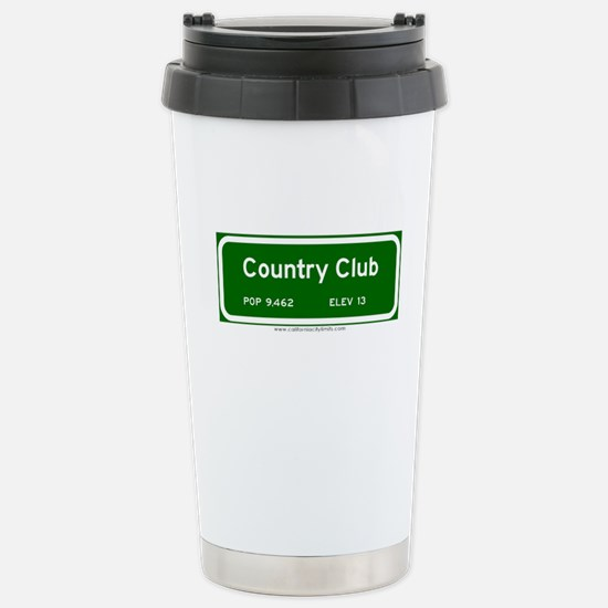 Country Club Stainless Steel Travel Mug