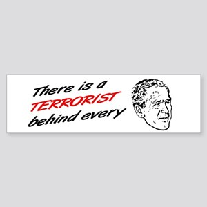 Funny saying bumper sticker anti bush war