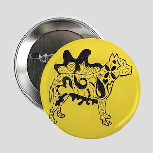 "Yellow Tattoo Pit 2.25"" Button"