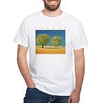 Olive Trees White T-Shirt