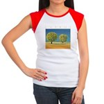 Olive Trees Women's Cap Sleeve T-Shirt