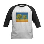 Olive Trees Kids Baseball Jersey