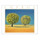 Olive Trees Small Poster