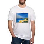 Golden Beach Fitted T-Shirt