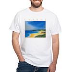 Golden Beach White T-Shirt