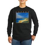 Golden Beach Long Sleeve Dark T-Shirt