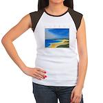 Golden Beach Women's Cap Sleeve T-Shirt