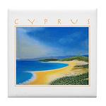 Golden Beach Tile Coaster