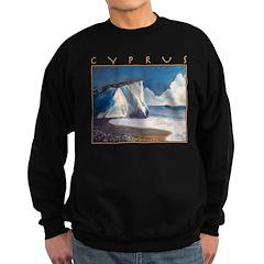 Aphrodite's Rocks, moonlight - Cyprus Sweatshirt (