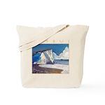 Aphrodite's Rocks, moonlight - Cyprus Tote Bag