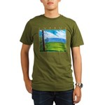 Troodos Pine Organic Men's T-Shirt (dark)