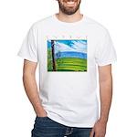 Troodos Pine White T-Shirt