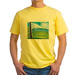 Troodos Pine Yellow T-Shirt