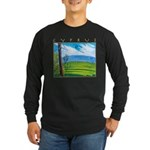 Troodos Pine Long Sleeve Dark T-Shirt