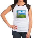 Troodos Pine Women's Cap Sleeve T-Shirt