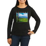 Troodos Pine Women's Long Sleeve Dark T-Shirt