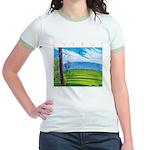 Troodos Pine Jr. Ringer T-Shirt