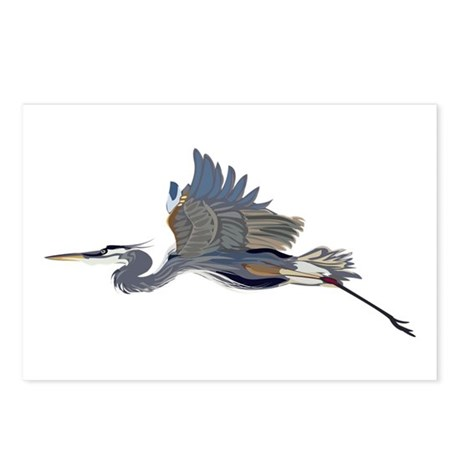 GP-Heron Postcards (Package of 8)