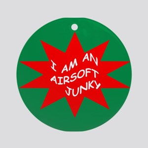 AIRSOFT JUNKY Ornament (Round)
