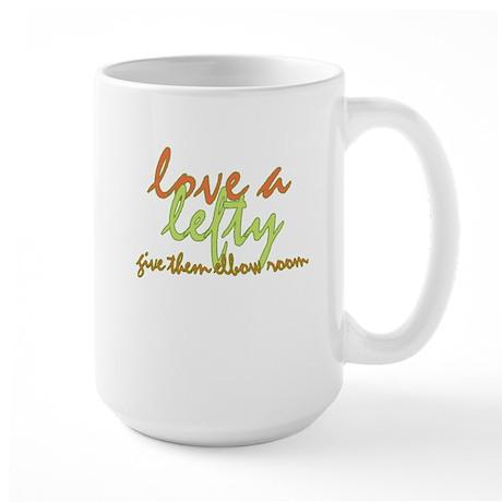 Lefty Love Large Mug