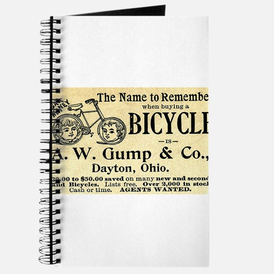 Funny Vintage cycling Journal