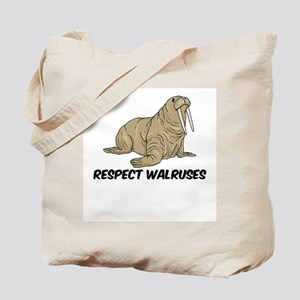Respect Walruses Tote Bag
