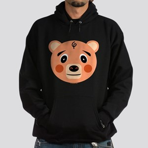 Orange Pig Monster Hoodie (dark)