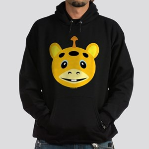 One Horned Orange Monster Hoodie (dark)