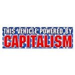 Power By Capitalism (Bumper Sticker)