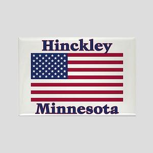 Hinckley Flag Rectangle Magnet