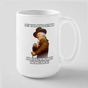 Hands Skyward Large Mug