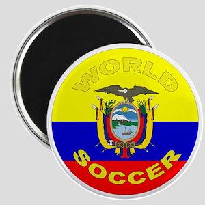 Ecuador World Cup Soccer Magnet