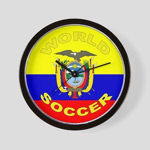 Ecuador World Cup Soccer Wall Clock