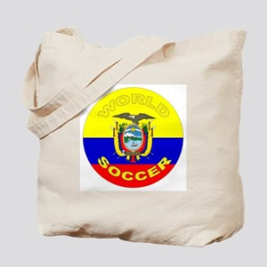 Ecuador World Cup Soccer Tote Bag