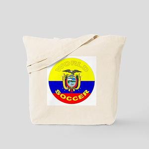 Ecuador World Cup Soccer Tote Bag