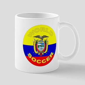 Ecuador World Cup Soccer Mug