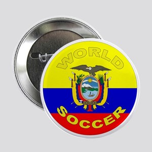 Ecuador World Cup Soccer Button