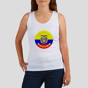 Ecuador World Cup Soccer Women's Tank Top