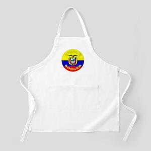 Ecuador World Cup Soccer BBQ Apron