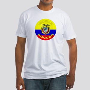 Ecuador World Cup Soccer Fitted T-Shirt