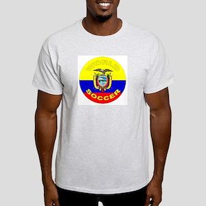 Ecuador World Cup Soccer Ash Grey T-Shirt
