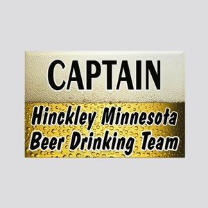 Hinckley Beer Drinking Team Rectangle Magnet