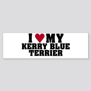 I Love My Kerry Blue Terrier
